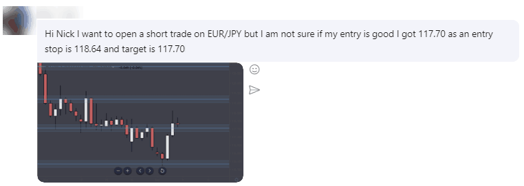skype chat example